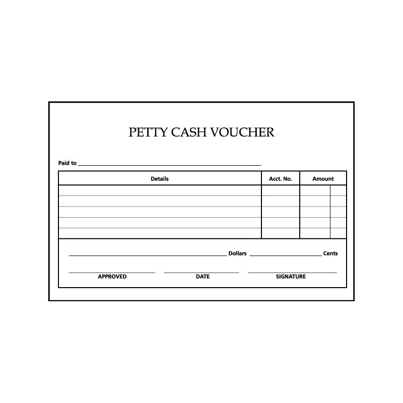 Voucher Check Template | Payment Vouchers Boss Trinidad Office Supplies