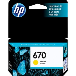 HP 670 Printer Cartridges