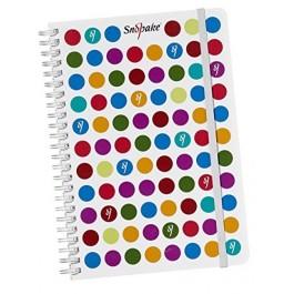 Polka Dot Notebook (Snopake)