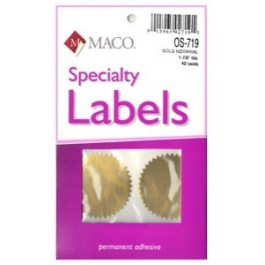 specialty labels maco 2 inch
