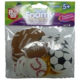 craft foamy stickers sports