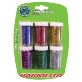 glitter tube set