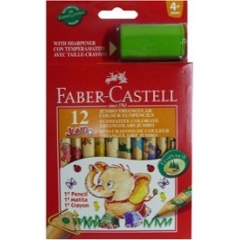 Jumbo Coloured Pencils (Faber-Castell)
