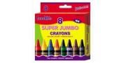 crayons innokids 8's super jumbo