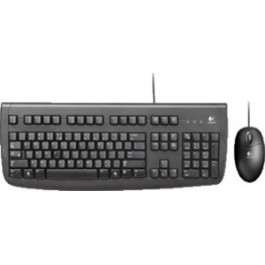 keyboard and mouse logitech delux 250