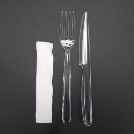 Knife & Fork w/Napkin
