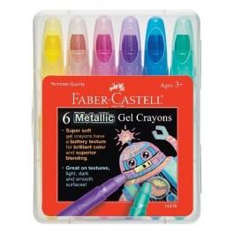 Metallic Gel Crayons (Faber-Castell)