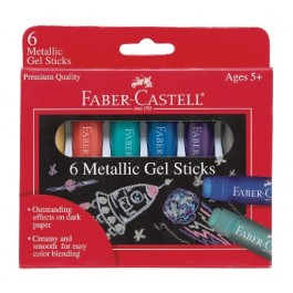 Metallic Gel Sticks (Faber-Castell)