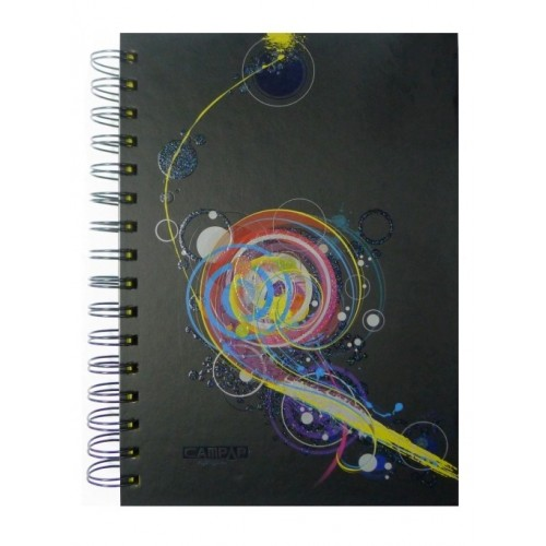 Campap Spiral Notebooks (Coloured pages)