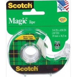 "3m magic tape 3/4"" x 18 yards"