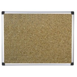 bi silque cork notice board