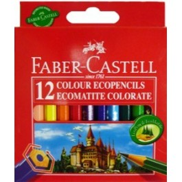 Faber Castell Colored Pencils 3 1/2 x 12