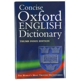 Oxford Concise Dictionary