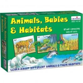 Animals, Babies and Habitats