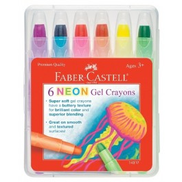 Neon Gel Crayons (Faber-Castell)