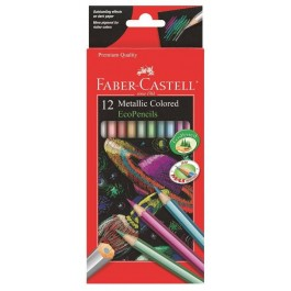 Metallic Colour Pencils (Faber-Castell)