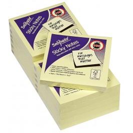 Snopake Adhesive Notes Yellow (100's