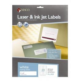 MACO File Folder labels