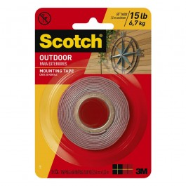 "3m outdoor mounting tape 1""x60"""