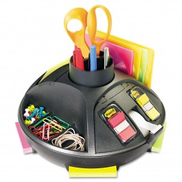 "desk top organiser 10""x10.5""x6"" rotary"