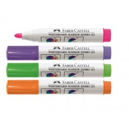 Whiteboard Markers Jumbo 123 (Faber-Castell)