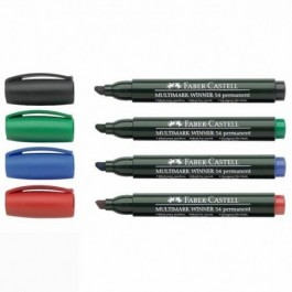 54 Winner Multimark Permanent Markers (Faber-Castell)