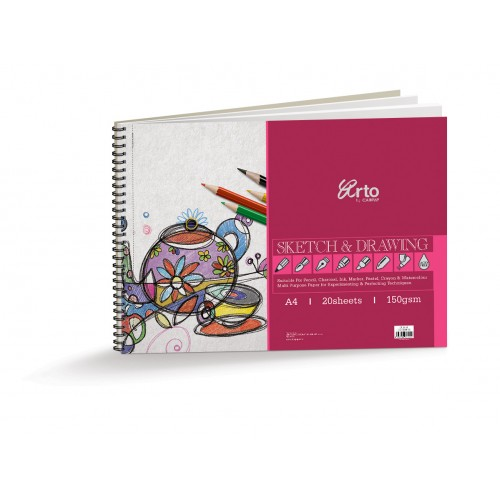 Spiral Sketch and Drawing Pad
