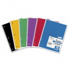 1, 3 & 5 Subject Note Book (Mead)