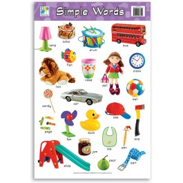 Wall Chart - Simple Words
