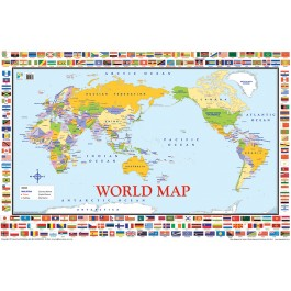 Wall Chart - World Map