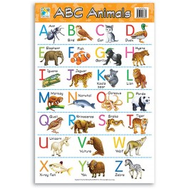 Wall Chart - ABC Animals