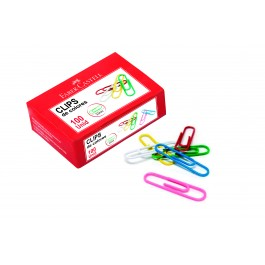 Coloured Paper Clips (Faber-Castell)