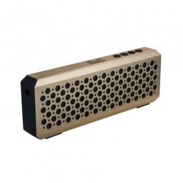 Portable metal speaker