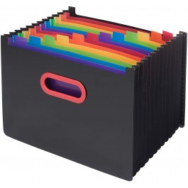Rainbow Expanding Desk Organiser  (Snopake)