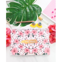 Pretty Leopard Weekly Planner