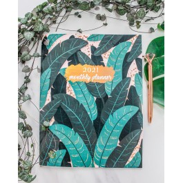 Jungle Monthly Planner