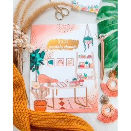 Boho Boss Monthly Planner