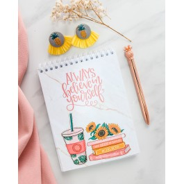 Dreams and Goals Sprial Notepad