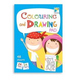 Colouring & Drawing Pad