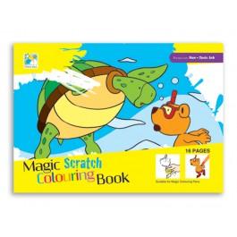 Magic Scratch Colouring Book