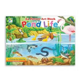 Colouring Books ( Pond Life )