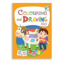 Colouring and Drawing Pad