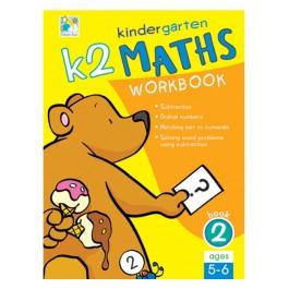 K2 Kindergarten Maths Workbook Bk 2