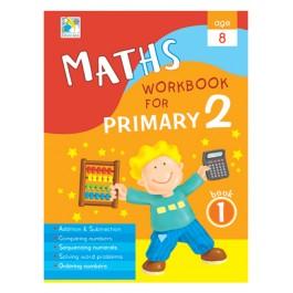 Maths Workbook primary 2 Bk1