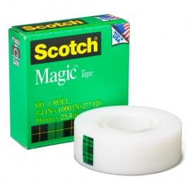 "3m magic tape 3/4"" x 27.7 yards"