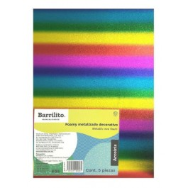 Foam Sheets - Metallic (Barrilito)