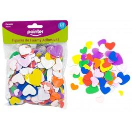 craft foamy hearts