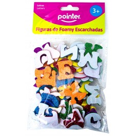 craft foamy letters glitter stickers
