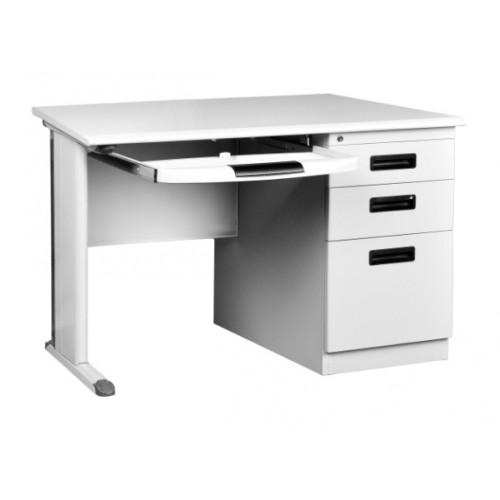 "48"" Metal Desk"