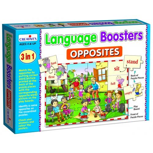 Language Booster Opposites